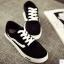 รองเท้าผ้าใบเกาหลี (สีดำ 35-40) thumbnail 1