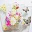 เคส tpu ลายดอกไม้แต่งเพชร ไอโฟน 6/6s 4.7 นิ้ว thumbnail 1