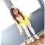 เสื้อ สีเหลือง แพ็ค 5ชุด ไซส์ 100-110-120-130-140 thumbnail 2