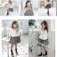 ชุดกระโปรง สีขาว แพ็ค 5ชุด ไซส์ 100-110-120-130-140 thumbnail 4