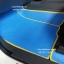 โรงงานพรมกระดุมเข้ารูปปูพื้นรถยนต์ Ford Everest 2016 ลายจิ๊กซอร์สีฟ้าขอบเหลือง thumbnail 2