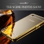 เคส OPPO R7 lite รุ่น Aluminium Hybrid Mirror Back (เคสฝาหลังเงา) thumbnail 5