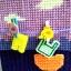 กล่องทิชชูแผ่นเฟรมสีม่วง ตัวหนีบตากผ้า thumbnail 6