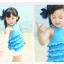 เสื้อ+กางเกง สีฟ้า แพ็ค 5ชุด ไซส์ 90-100-110-120-130 thumbnail 5