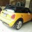 พรมปูพื้นในรถยนต์ Mini Cooper F56 ไวนิลสีดำขอบดำ thumbnail 6