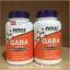 Now Foods, GABA, 500 mg, 100 Capsules thumbnail 2