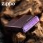 """ไฟแช็ค Zippo 24747ZL แท้ สีม่วงเข้มผิวมัน """" Zippo Logo Purple Abyss """" แท้นำเข้า 100% thumbnail 5"""