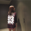 เสื้อแขนยาว เสื้อแฟชั่นเกาหลี ลายสก๊อตสีแดง WHITE13 thumbnail 2