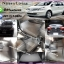 พรมไวนิลปูพื้นรถยนต์เข้ารูป Nissan Livina ไวนิลสีเทาขอบเทา thumbnail 1