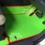 ผลิตและจำหน่ายพรมปูพื้นรถยนต์เข้ารูป Ford Ranger 4ประตู ลายกระดุมสีเขียวขอบแดง thumbnail 2