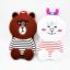 เคสซิลิโคน3D หมีบราวน์ ซัมซุง เจ 7(version 2) thumbnail 1
