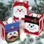 ชุดปักแผ่นเฟรมกล่องทิชชูลายซานต้ามี 3 แบบ เลือกลายด้านในค่ะ thumbnail 1