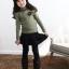 เสื้อ สีเขียว แพ็ค 5ชุด ไซส์ 100-110-120-130-140 thumbnail 4