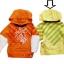 KPTL156 Kidsplanet เสื้อเด็กชาย เสื้อยืดแขนยาว มีฮู้ด สีเหลือง ลายสกรีน+ปักแปะ Kidsplanet 360 องศา เหลือ Size 12M thumbnail 1