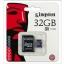 เมมโมรี่ การ์ด Kingston Memory Micro SD Card Class 4 - 32GB thumbnail 1