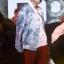 เสื้อแฟชั่นไอดอลเกาหลี #BTS SUGA สีขาว (ระบุไซส์) thumbnail 2