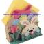 ชุดปักแผ่นเฟรมที่ใส่กระดาษโน้ตลายกระต่าย thumbnail 1