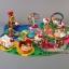 Hello kitty amusement Playground park figure PVC model ตุ๊กตาโมเดลคิตตี้คอลเลกชั่นสวนสนุก 11 pcs. thumbnail 5