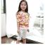 กางเกง สีขาว แพ็ค 5ชุด ไซส์ 100-110-120-130-140 thumbnail 2