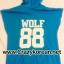[พร้อมส่ง] เสื้อฮู้ดแขนกุดกว้าง EXO WOLF 88 (สีน้ำเงิน) thumbnail 5
