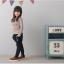 กางเกง(มีขนด้านในอ่อนๆ) สีกรม แพ็ค 5ชุด ไซส์ 100-110-120-130-140 thumbnail 3
