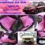 ยางปูพื้นรถยนต์เข้ารูป Subaru XV สนุ๊กสีชมพูขอบม่วง thumbnail 1