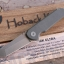 Jake Hoback MK Ultra UHEP AEB-L Blade, Milled Aluminum Handles