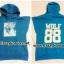 [พร้อมส่ง] เสื้อฮู้ดแขนกุดกว้าง EXO WOLF 88 (สีน้ำเงิน) thumbnail 3