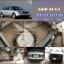 พรมยางปูพื้นรถยนต์ Audi A6 C5 ลายกระดุมสีน้ำตาลขอบน้ำตาล thumbnail 1