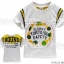 A222-W Gufeng เสื้อยืดเด็ก สีขาวครีม ลายเต่า Slowly Tortouise Safety สกรีนตัวหนังสือด้านหลัง Size 5/9/11 thumbnail 1