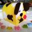 กล่องทิชชูแผ่นเฟรม ลายหมาน้อย สีเหลือง thumbnail 2