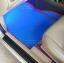 ขายพรมรถยนต์ Nissan Sunny ลายธนูสีฟ้าขอบแดง thumbnail 2