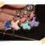 จุกกันฝุ่นมือถือ สาวน้อยนักบัลเล่ต์ประดับ rhinestone สำหรับเสียบกันฝุ่นรูหูฟังและเพื่อความสวยงามสำหรับ iphone samsung htc oppo lg sony nokia asus หรือมือถือที่มีหูฟังขนาด 3.5 มม. / 3.5mm. Anti Dust Earphone Cap Jack Plug thumbnail 2