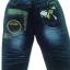 J1136 กางเกงยีนส์เด็กชาย ดีไซส์ลายปักเท่ห์ทั้งด้านหน้า-หลัง เอวยางยืด Size 4-6 ขวบ ขายปลีกในราคาส่งให้เลยจ้า thumbnail 2