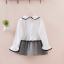 ชุดกระโปรง สีขาว แพ็ค 5ชุด ไซส์ 100-110-120-130-140 thumbnail 6