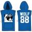 [พร้อมส่ง] เสื้อฮู้ดแขนกุดกว้าง EXO WOLF 88 (สีน้ำเงิน) thumbnail 1
