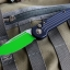 "Microtech LUDT Jedi Master Automatic Knife (3.4"" Green) 135-1JM"