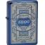 """ไฟแช็ค Zippo แท้ 6341 """"Zippo 6341, Quality Since 1932, Sapphire Blue"""" แท้นำเข้า 100% thumbnail 2"""