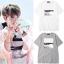 เสื้อยืด (T-Shirt) พิมพ์ลายคลื่นทะเล แบบ Jungkook thumbnail 1