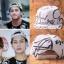 หมวกแฟชั่น GOT7 Jackson สีขาวลายดำ thumbnail 1