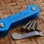 Key Bar Blue Anodized Aluminum