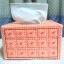 กล่องทิชชู pop-up สีโอรส thumbnail 2