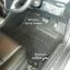 พรมไวนิลปูพื้นรถยนต์ Toyota Vios 2016 สีดำขอบดำ thumbnail 5