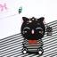 เคสซิลิโคน 3Dแมวดำใส่เสื้อขวาง ไอโฟน 7 4.7 นิ้ว thumbnail 1