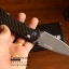 มีดพับ Ganzo รุ่น G7533 CF สีดำ ใบมีดดำ ด้ามลายคาร์บอนไฟเบอร์ ของแท้ 100% thumbnail 5