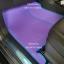ขายยางปูพื้นรถเข้ารูป Isuzu Mu-X ลายธนูสีม่วงขอบฟ้า thumbnail 2