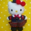 ตุ๊กตาเฮลโหลคิตตี้ชุดเรียนญี่ปุ่น Hello Kitty Japanese costume thumbnail 1