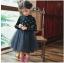 ชุดกระโปรง สีดำ แพ็ค 5ชุด ไซส์ 100-110-120-130-140 thumbnail 1