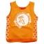 KPTT265L-6 Kidsplanet เสื้อเด็กชาย เสื้อกล้าม/แขนกุด สีส้ม สกรีน Marine Club ตีฉลุตรงชายเสื้อและด้านข้างพร้อมสกรีนรูปสมอเรือตลอดแนว Size 5Y thumbnail 1