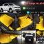 ผลิตและจำหน่ายพรมปูพื้นรถยนต์เข้ารูป Ford Ranger 4ประตู ลายกระดุมสีเหลืองขอบดำ thumbnail 1